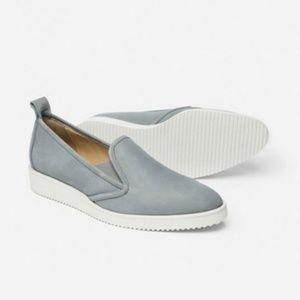 Everlane Grey Italian Suede Nubuck Street Shoes